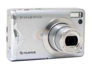 FUJIFILM FinePix F20 Silver 6.3 MP Digital Camera