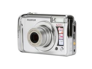 FUJIFILM FinePix A610 Silver 6.3 MP Digital Camera