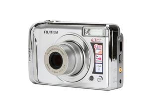 FUJIFILM FinePix A610 Silver 6.3 MP Digital Camera