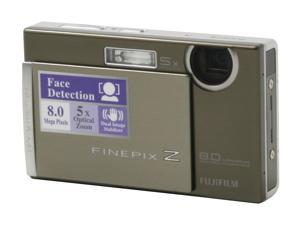 FUJIFILM Z100fd Silver 8.0 MP Digital Camera