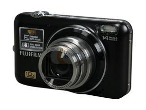 FUJIFILM FINEPIX JZ500 Black 14 MP 28mm Wide Angle Digital Camera