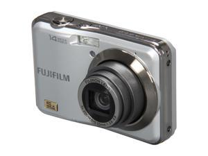 FUJIFILM AX250 Silver 14 MP 28mm Wide Angle Digital Camera