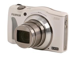 FUJIFILM F750EXR White 16.0 MP Wide Angle Digital Camera
