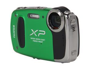 FUJIFILM XP50 Green 14.4 MP Waterproof Shockproof Wide Angle Digital Camera