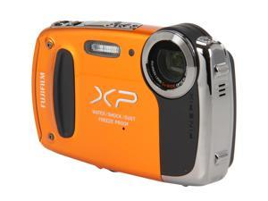 FUJIFILM XP50 Orange 14.4 MP Waterproof Shockproof Wide Angle Digital Camera
