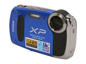 FUJIFILM XP50 Blue 14.4 MP Waterproof Shockproof Wide Angle Digital Camera