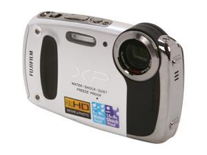FUJIFILM XP50 Silver 14.4 MP Waterproof Shockproof Wide Angle Digital Camera