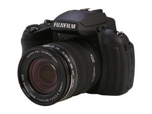FUJIFILM HS30EXR Black 16.0 MP Wide Angle Digital Camera