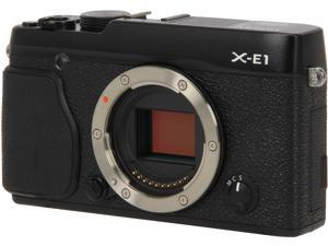 "FUJIFILM X-E1 16272394 Black 16.3 MP 2.8"" 460K LCD Digital Camera - Body"