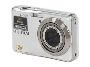 FUJIFILM FINEPIX AX200 Silver 12.2 MP 28mm Wide Angle Digital Camera