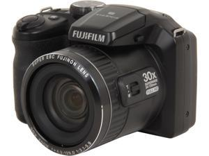 FUJIFILM FinePix S6800 Black 16.2 MP 24mm Wide Angle Digital Camera HDTV Output