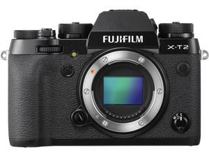 FUJIFILM X-T2 16519247 Black Compact Mirrorless System Camera Body