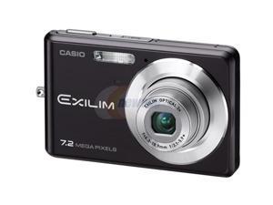 CASIO EX-Z77BK Black 7.2 MP Digital Camera