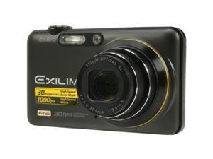 CASIO EXILIM EX-FC100 Black 9.1 MP Digital Camera - HIGH-SPEED
