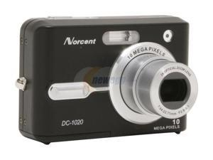 Norcent DC-1020 Black 10.1MP Digital Camera