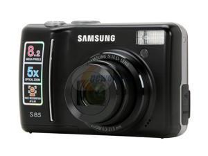 SAMSUNG S85B Black 8.2 MP Digital Camera