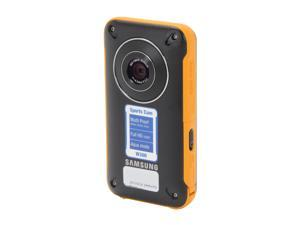 "SAMSUNG HMX-W300 Orange 5.0 MP 1/3.2"" BSI CMOS 2.3"" 230K LCD 3x Digital Full HD Pocket Camcorder"