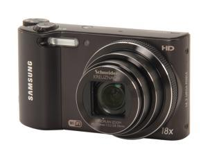 SAMSUNG WB150F EC-WB150FBPBUS Black 14.2 MP 24mm Wide Angle SMART Camera