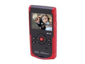 "SAMSUNG HMX-W190 Red 2.3"" LCD Full HD Pocket Camcorder"