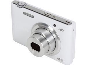 SAMSUNG ST150F EC-ST150FBPWUS White 16.2 MP Compact Smart Camera