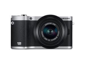 Samsung NX300 20.3 Megapixel Mirrorless Camera (Body with Lens Kit) - 20 mm - 50 mm - Black