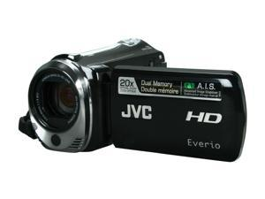 JVC Everio GZ-HM340 Black 16GB Dual Full HD Memory Camcorder
