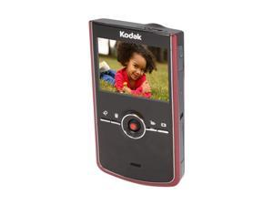 "Kodak Zi8 Red 2.5"" LCD HD Pocket Video Camera"