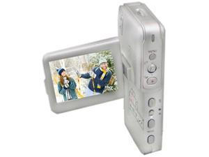 "Mustek DV520T Silver 2.0"" Swivel LCD Digital Video Camera"