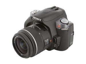 SONY a330 Black Digital SLR Camera w/ DT 18-55mm f/3.5-5.6 SAM Standard Zoom Lens