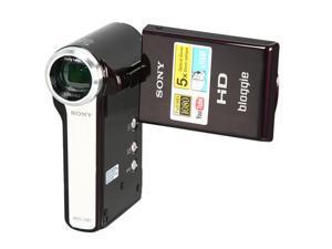 "SONY MHS-CM5 Eggplant 2.5"" 230K Swivel LCD HD bloggie Camera"