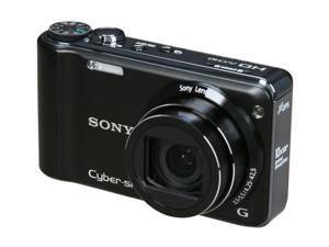 SONY Cyber-shot DSC-HX5V Black 10.2 MP 25mm Wide Angle Digital Camera