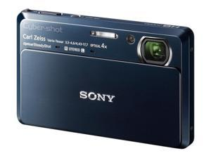 SONY Cyber-shot DSC-TX7 Blue 10.2 MP 25mm Wide Angle Digital Camera