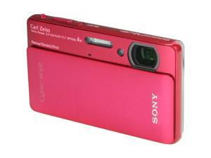 Sony Cyber-shot DSC-TX5 10.2MP CMOS Digital Camera with 4x Wide Angle Zoom(Red)