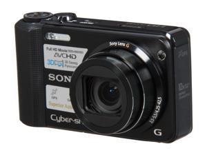 SONY DSCHX7V/B Black 16.2 MP 25mm Wide Angle Digital Camera