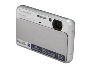 SONY DSCT110/SC Silver 16.1 MP 25mm Wide Angle Digital Camera