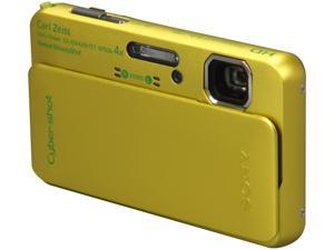 SONY DSCTX10/G Green 16.2 MP Waterproof Shockproof 25mm Wide Angle Digital Camera