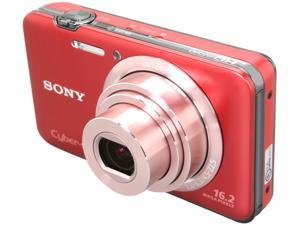 SONY DSCWX9/R Red 16.2 MP 25mm Wide Angle Digital Camera