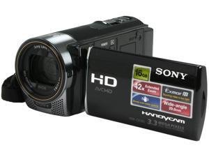 SONY HDRCX160 Silver Full HD HDD/Flash Memory Camcorder