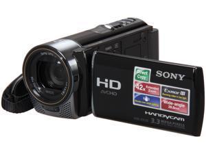 SONY HDRCX130/B Black Full HD HDD/Flash Memory Camcorder