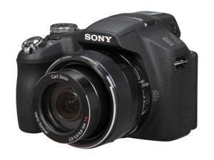 SONY DSC-HX100V Black 16.2 MP Digital Camera