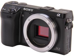 SONY Alpha NEX-7/B Black Compact Mirrorless System Camera - Body Only