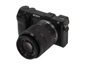 SONY alpha NEX-7K/B Black DSLR Camera with SEL1855 Lens