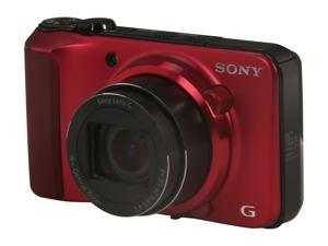 SONY Cyber-shot DSC-HX10V/R Red 18 MP Digital Camera