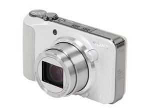 SONY Cyber-shot DSC-HX10V/W White 18 MP Digital Camera