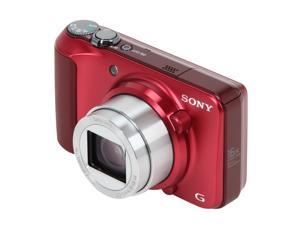 SONY Cyber-shot DSC-H90/R Red 16.1 MP Digital Camera