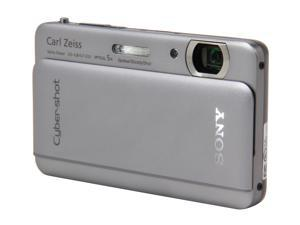 SONY Cyber-shot DSC-TX66 Silver 18.2 MP Digital Camera HDTV Output