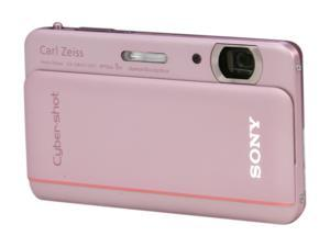 SONY Cyber-shot DSC-TX66/P Pink 18.2 MP Digital Camera HDTV Output
