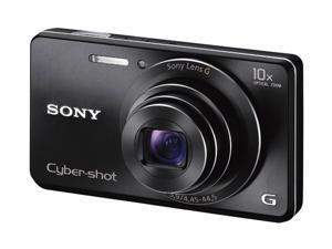 SONY Cyber-shot DSCW690/B Black 16.1 MP Digital Camera