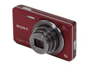 SONY Cyber-shot DSC-W690/R Red 16.1 MP Digital Camera