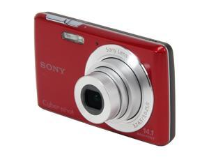Sony DSC-W620/R Red Digital Camera with 14.1MP and 720 HD Video
